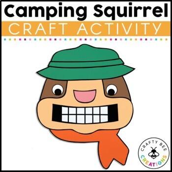 Scaredy Squirrel Craft Activity {Camping Squirrel}