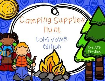 Camping Supplies Long Vowel Hunt