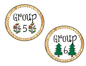 Camping Table Numbers