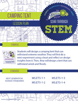 Camping Tent - STEM Lesson Plan
