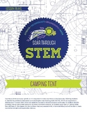 Camping Tent - STEM Lesson Plan With Journal page