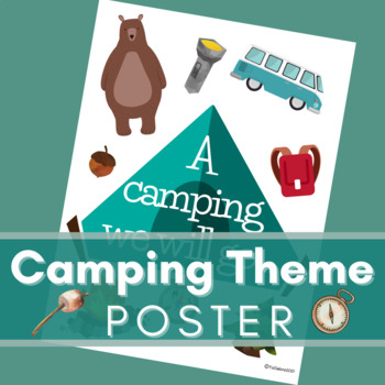 Camping/The Outdoors Theme Bundle