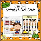 Camping Activities and Task Cards