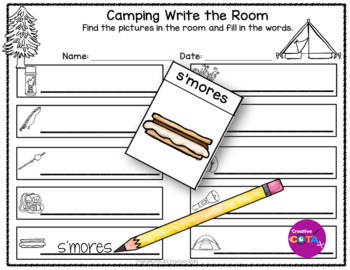 Camping Theme Unit Differentiated