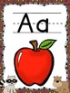 Camping Theme Alphabet Posters