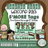 Camping Theme Back To School S'MORE tags