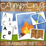 Camping Theme Banner Set