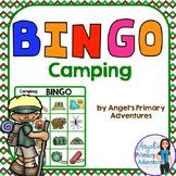 Camping Theme Bingo Game