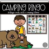 Camping Theme Bingo for 30 Children