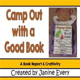 Camping Theme:  Book Report Craftivity
