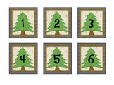 Camping Theme Calendar Numbers