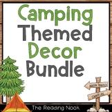 Camping Theme Classroom Decor