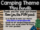 Camping Theme Classroom Decor: Build Your Own Mini Bundle