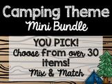 Camping Theme Classroom Decor: Build Your Own Mini Bundle