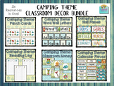 Camping Theme Classroom Decor Bundle