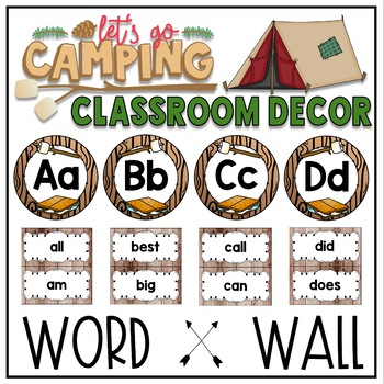 Camping Theme Classroom Decor Bundle over 800 pages