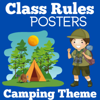 Camping Themed Classroom Class Rules