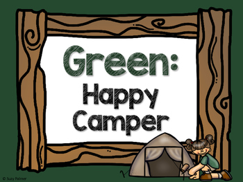 Camping Theme Classroom Decor: Clip Chart