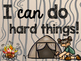 Camping Theme Classroom Decor: Motivational Posters