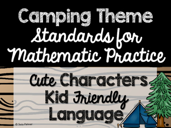 Camping Theme Classroom Decor: Standards for Mathematical Practice