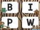Camping Theme Classroom Decor: Word Wall Headers