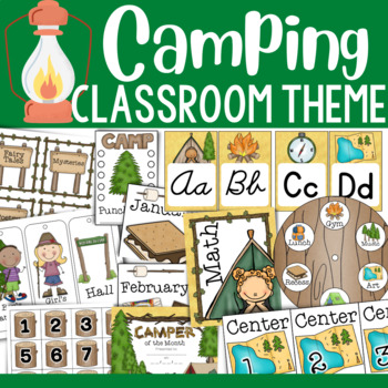 Happy Camping:  Classroom Essentials (MEGA PACK)