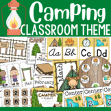 Camping Theme: Classroom Decor (BUNDLE)