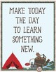 Camping Theme - Classroom Decoration - Quote Posters
