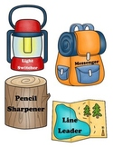 Camping Theme Classroom Job Chart