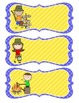 Camping Theme Classroom Name Tags