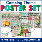 Camping Theme Classroom Poster Set