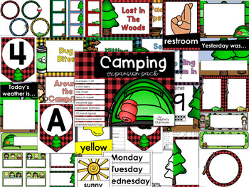 Camping Theme Decor {Expansion Pack}