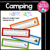 Camping Theme Desk Tags