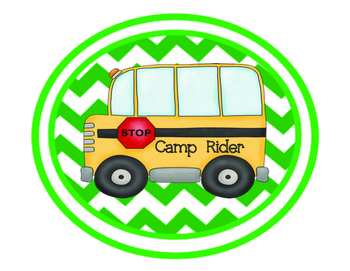 Camping Theme Dismissal Chart