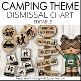 Camping Theme Dismissal Chart - How We Go Home: Camping Th