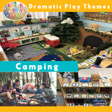 Pretend Play Camping | Imaginative Play Printables for Dramatic Play Center