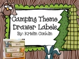 Camping Theme Drawer Labels