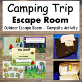 Camping Theme Escape Room Camping Outdoor Scavenger Hunt Puzzles