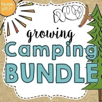 Camping Theme Growing Bundle