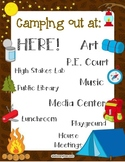 """Camping Theme """"Where are we"""""""
