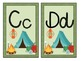 Camping Theme Large Letter Cards