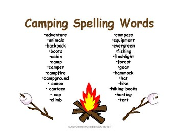 Camping Theme Literacy Night Activities And Tips For Parents