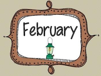 Camping Theme Birthday Months