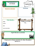 Camping Theme Newsletter