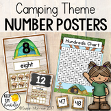 Camping Theme Number Posters and More!  Camping Theme Clas