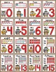 Camping Theme Numbers Posters