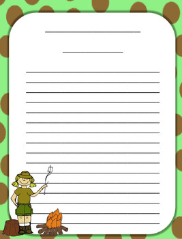 Camping Theme Paper