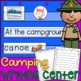 Camping Forest Theme Pocket Chart Word Cards