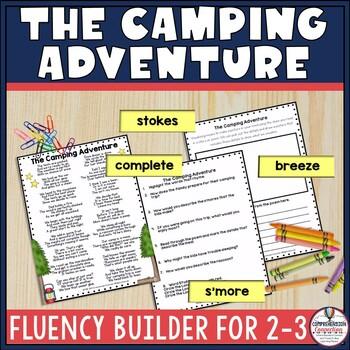 Camping Adventure Original Poem for Fluency Practice