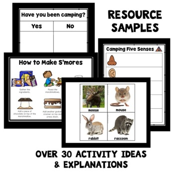 Camping Theme Preschool Lesson Plans